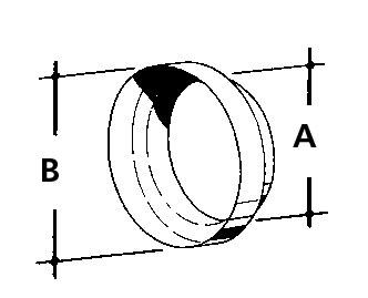 extraposten bergangsst ck von ht kg rohren auf schl uche teleskoprohre l ftungsrohre. Black Bedroom Furniture Sets. Home Design Ideas
